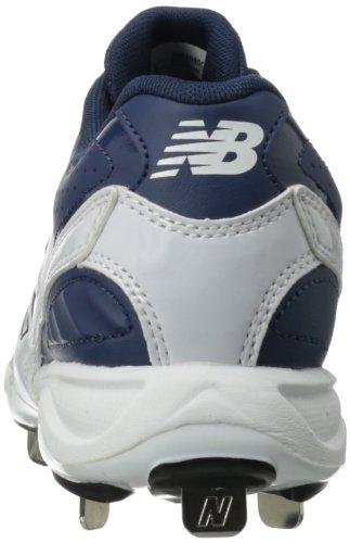 Ny Balans Mens Mb4040 Metall Baseball Knap Blå / Vit