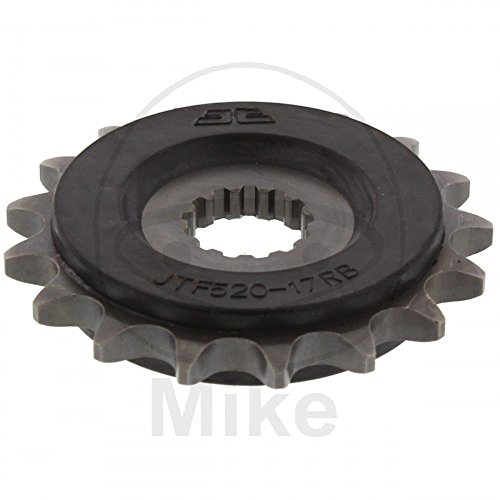 (97-18 Suzuki GSXR600: JT Steel Front Sprocket (520 / 17T / OEM Rubber Cushion))
