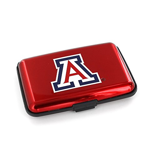 NCAA Arizona Wildcats RFID Aluminum Wallet ()
