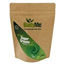 BodyMe Organic Super Greens Mix | 250 g Powder | Soil Association Certified