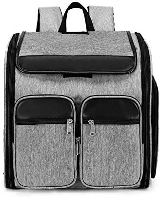 WXJHA Outdoor Hiking Cat Backpack Travel Puppy Carrier Bag Pet Space Capsule Portable Cats Transport Box Breathable Bags For Dogs for Travel, Hiking, Outdoor: Amazon.es: Hogar