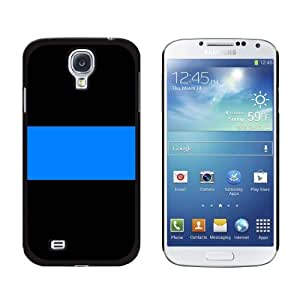 Thin Blue Line Police - Snap On Hard Protective Case for Samsung Galaxy S4 - Black by ruishername