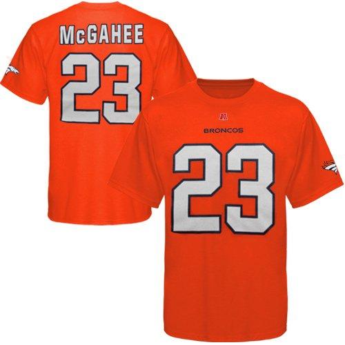 NFL Willis McGahee Denver Broncos Eligible Receiver T-Shirt - Orange (X-Large) ()