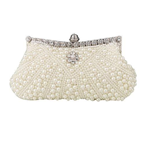 Dangle Pearl Bag Bridal Diamond End Wedding Juzhijia High Dinner Bead w0fgqtB