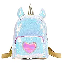 Unicorn Cute Sequins Backpack for Girls