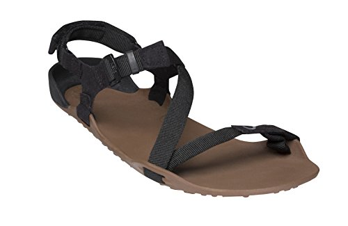 Fish Cut Coin - Xero Shoes Z-Trek - Women's Minimalist Barefoot-Insipred Sport Sandal - Hiking, Trail, Running, Walking - Mocha/Coffee