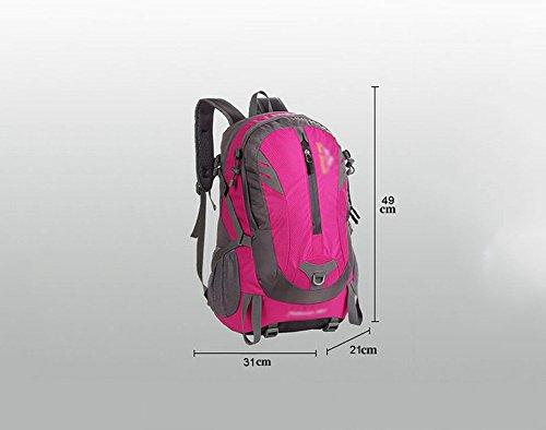 HWLXBB Outdoor Bergsteigen Tasche 38L Anti-Spritzwasser Wasser Licht Reise Bergsteigen Rucksack Männer und Frauen Walking Bergsteigen Tasche ( Farbe : 3* )
