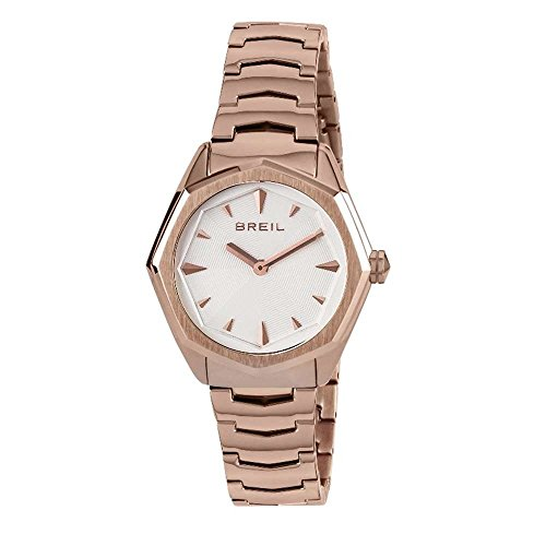 BREIL Watch Eight Ladies Only Time White IP Pink - TW1703