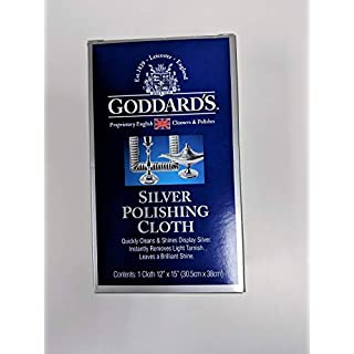 Goddard's Silver Polishing Cloth | No Rubbing or Buffing is Required