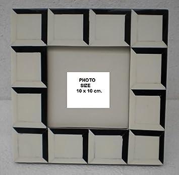 Amazoncom Black And White Checkered Photo Frame
