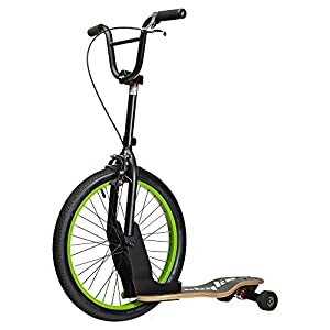 Sbyke Scooter for Kids and Adults: Coasts Like a Bike, Carves Like a Skateboard, patented Rearsteer technology