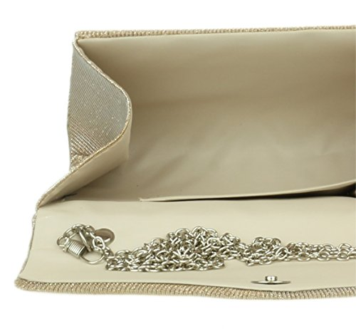 Girly Champagne femme Pochette Handbags pour OwqrUawA