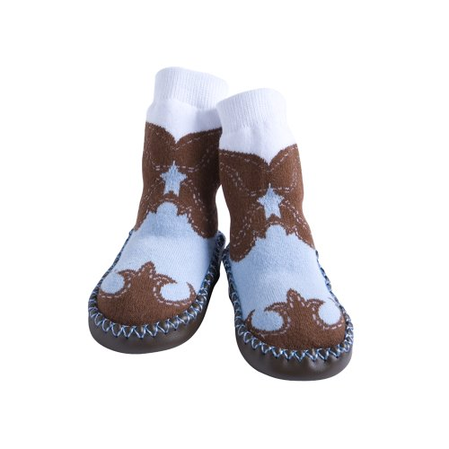 Jazzy Toes - Slippers:CowboyBoots(6-12M)