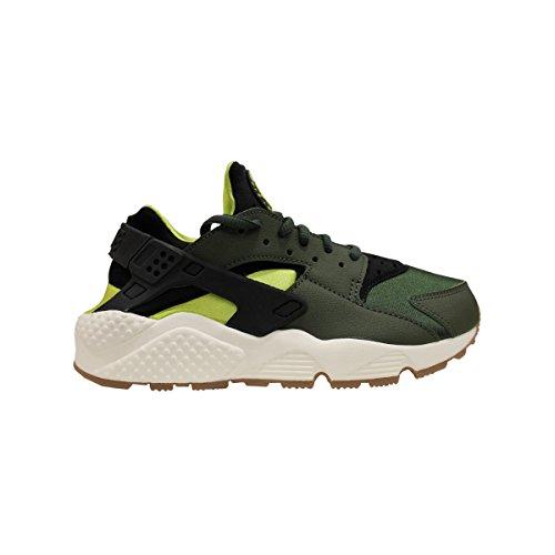 Aire Huarache Run, blanco / blanco, 6,5 nosotros carbon green black 300