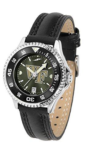 Wake Forest Demon Deacons Competitor AnoChrome Women's Watch - Color - Watch Sport Deacons Demon Ladies