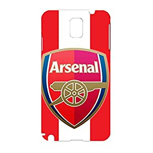 Asenal Football Club Team Logo Customized Slim Protective Hard Plastic 3D Case FT6K001 for Samsung Galaxy Note 3