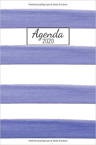 Agenda 2020: Janvier A Décembre 20 / 1 Semaine Sur 2 Pages ...