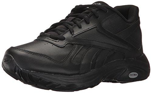 Reebok Mens Ultra V Dmx Max 2E Walking Shoe Black/Black - Wide E