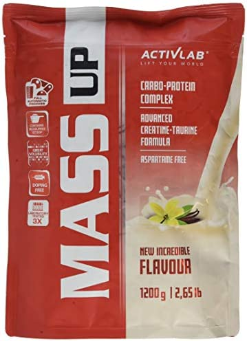 Activlab, MASS UP, Vanille, 1er Pack (1x 1200g)