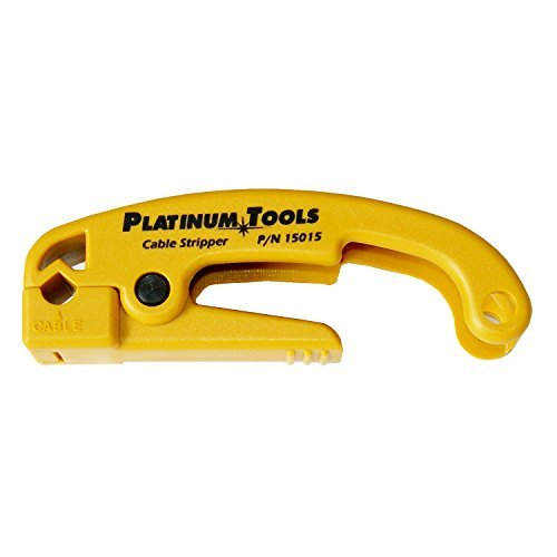 Platinum Tools 15015 Cat 5 Cable Jacket Stripper by Platinum Tools