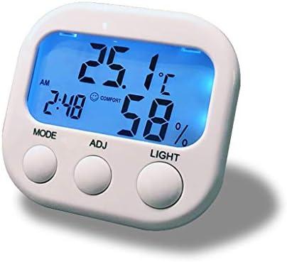 Raumfeuchtigkeitsmesser Thermometer Hintergrundbeleuchtung Indoor Thermometer Hygrometer Neugeborene Startseite Thermometer und Hygrometer Home Baby-Raum Feuchtigkeit Thermometer Higrómetro digital pa