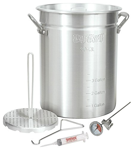 Bayou Classic 30 Quart Outdoor Turkey Fish Deep Fryer Complete Kit Many Extras ;JM#54574-4565467/341150381 by Bayou Classic