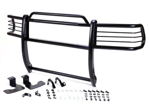 (Hunter GT-811 Grille Guard for 05-14 Toyota Tacoma - Powder Coated Black)