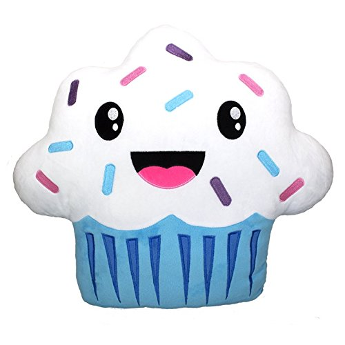 Scentco Cupcake Smillow - Gourmet Scented Throw (Gourmet Cupcake)