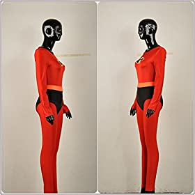 - 41r9Xx8r9RL - Yejue The Incredibles 2 Super Woman Mr. Incredible Zentai Jumpsuit
