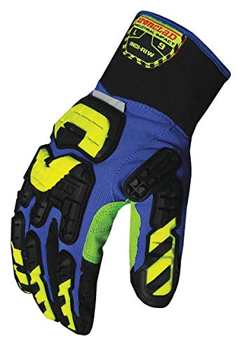 Ironclad Kong INDI-RIW-05-XL Industrial Impact Rigger Insulated Waterproof Oil & Gas Safety Gloves, X-Large by Ironclad (Image #1)