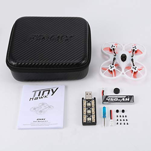 anyilon Brushless 75mm FPV RC Racing Drone BNF 4 in 1 3A ESC Mini Quadcopter Aircraft 600TVL CMOS Camera 15000KV 37CH