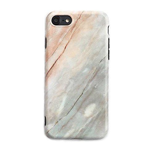 iPhone 7 Case, iPhone 8 Case, Ultra Slim Anti Scratch and Shock Soft TPU Matte Silicone Case for iPhone 7/8 - Jupiter ()