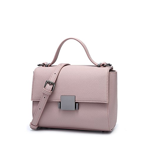 OME Handbag 20 Small Summer Bag Purple Pink Bag amp;QIUMEI 16Cm Bag Spring Handbag Shoulder Square 7 Women'S Shoulder RYqrOwzR