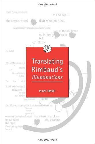 Translating Rimbaud's 'Illuminations'