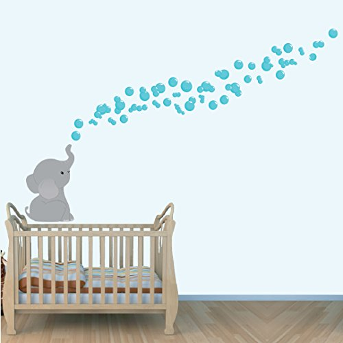 Elephant Jungle Stickers Nursery Decals