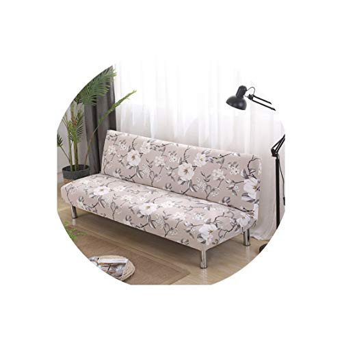 (Futon Slipcovers Armless Sofa Bed Cover Folding seat Stretch Covers Protector Bench Futon)