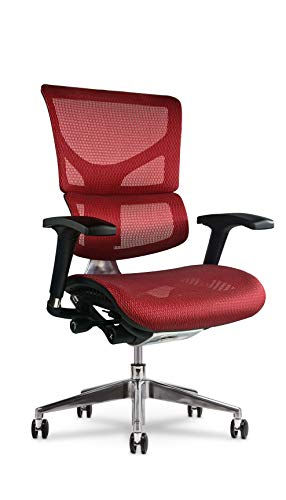 X Chair X2 Executive Task Chair, Red K-Sport Mesh
