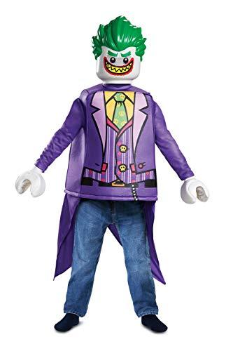 Disguise Joker Classic Child Costume, Purple, Medium/(7-8) -