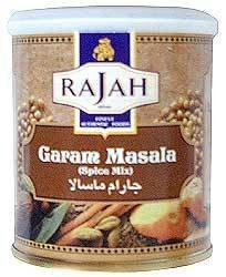 Rajah Garam Masala 100g (Pack of 4) by Rajah
