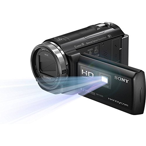 Sony 32GB HDR-PJ540 Full HD Handycam Camcorder with Built-in Projector (Black) by Sony