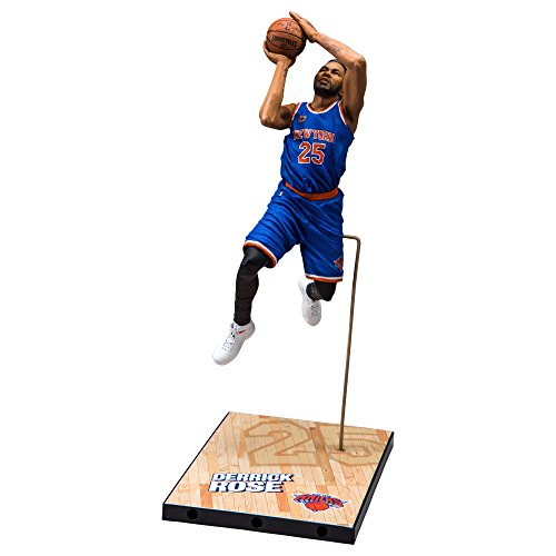 McFarlane Toys NBA Series 30 New York Knicks Derrick Rose Action Figure