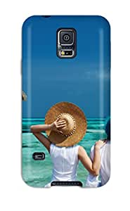 New Style Tpu S5 Protective Case Cover/ Galaxy Case - People
