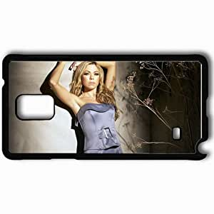 Personalized Samsung Note 4 Cell phone Case/Cover Skin Adele Silva Black