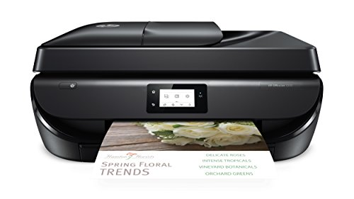 All In One Printer - HP OfficeJet 5255 Wireless All-in-One Printer, HP Instant Ink & Amazon Dash Replenishment ready (M2U75A), Black