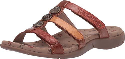 Taos Footwear Women's Prize 3 Harvest Multi Sandal 7 M US