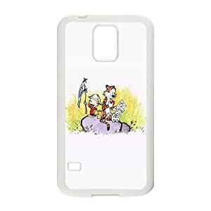 Samsung Galaxy S5 Cell Phone Case White Calvin And Hobbes Travel Illust Art SP4115920