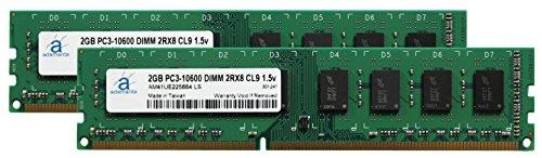 Adamanta 4GB (2x2GB) Memory Upgrade Asus V Series V9-P8H67E Desktop DDR3 1333MHz PC3-10600 UDIMM 2Rx8 CL9 1.5v DRAM