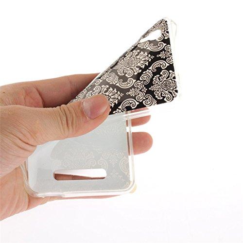 Protection Antichoc Souple Slim ZTE Couverture art Téléphone Transparent Cas Bord Fit Blade Silicone Arrière Hozor Retro Résistant Cas Scratch TPU Motif De En De Peint A452 16qx7