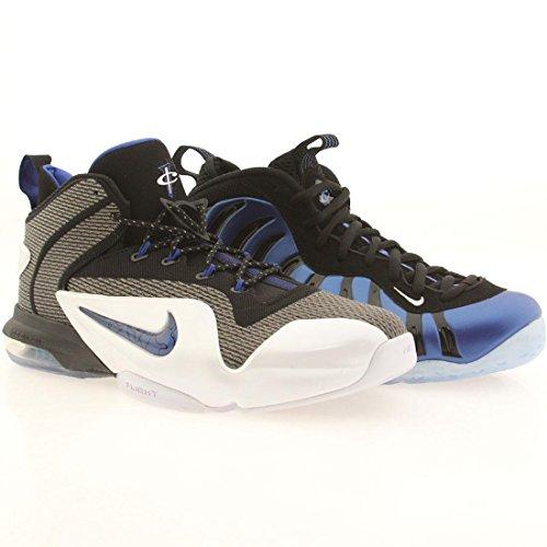 Nike Hommes Penny Sharpie Pack Qs Chaussures De Basket Noir / Jeu Royal -white