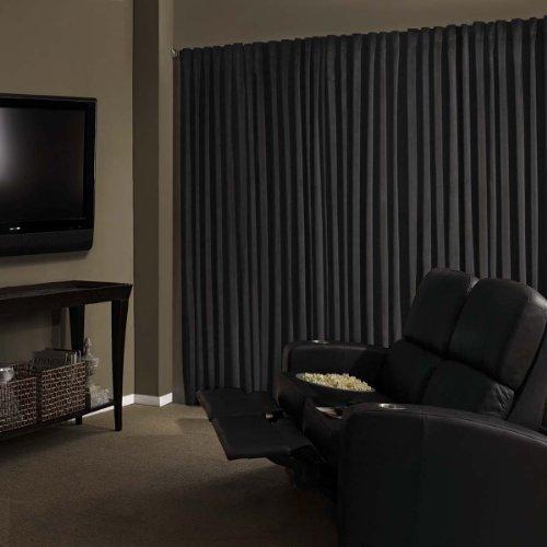 Blackout Curtains blackout curtains cheap : Amazon.com: Absolute Zero Velvet Blackout Home Theater Curtain ...